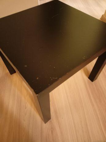 Stolik Łąck Ikea czarny mały