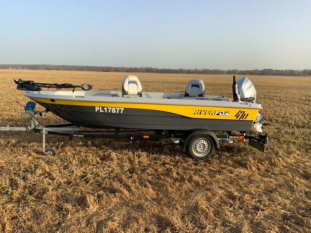 Łódka River Fox 470 FULL WYPAS !!!