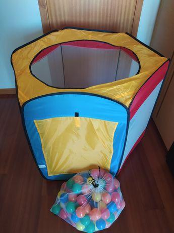 Piscina (tenda) de bolas
