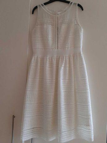 Vestido branco- midi