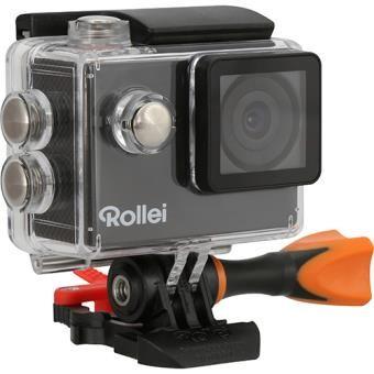 4*Rollei Action Cam 425 Câmara Ação 4K com acessórios + Kit Montanha