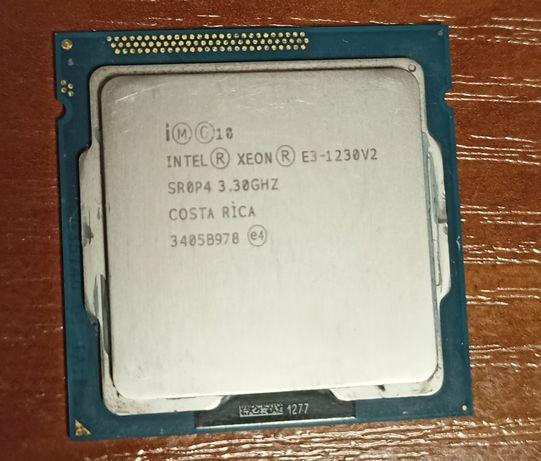 Процессор Intel Xeon E3-1230 v2 (близкий к core i7 3770) s1155