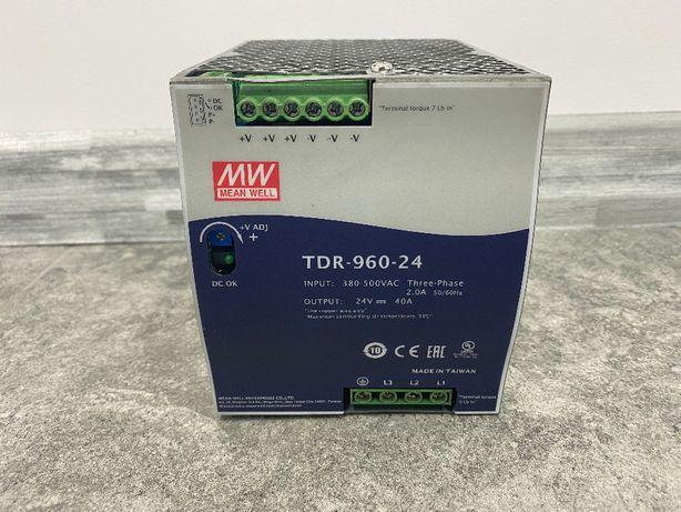 Zasilacz Mean Well na szynę DIN 24V 40A 960W TDR-960-24