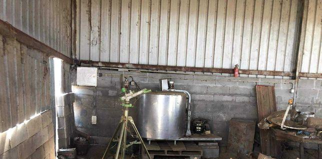 tanque do leite 500lt