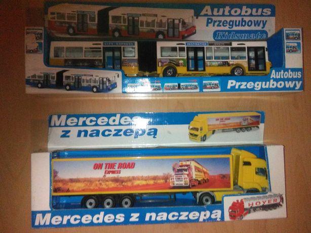 Pojazdy z napędem - Autobus i Tir