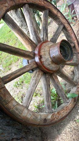 Koło drewniane,dębowe.żyrandol,góralski styl.