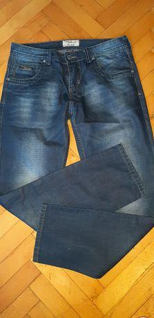 Męskie spodnie jeansy Trang r 34