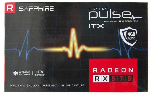 Відеокарта Sapphire Radeon RX 570 4GD5 PULSE