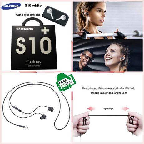 Earphones AGK 3.5mm Original ** Samsung ** - Brancos - C/ Caixa - 24h