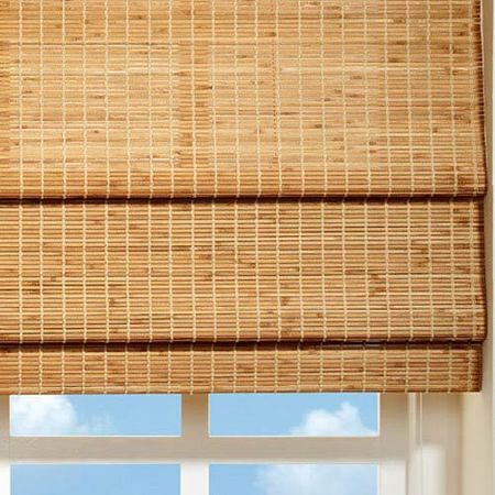 Бамбукова римська штора Роллета (бамбуковая штора)