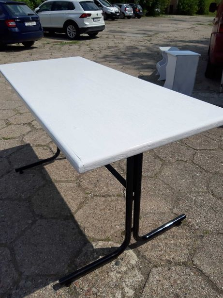 Własnoręcznie zrobiony stół - loft - długość 140 cm - salon - kuchnia