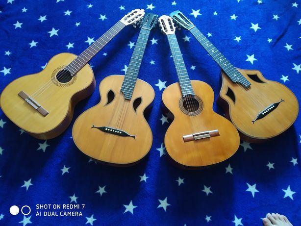 Продам старинные гитары
