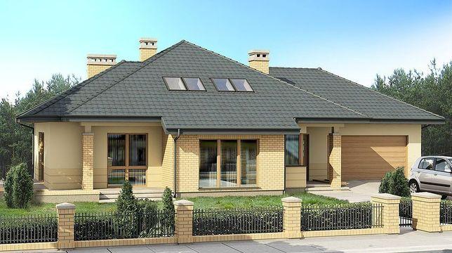 Piękny dom w Wądrożu wielkim powierzchnia działki 3700 mkw