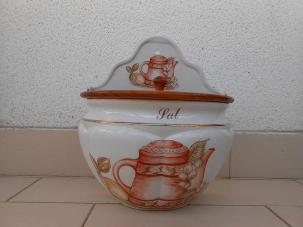 Saleiro de porcelana portuguesa - Carlibrinde