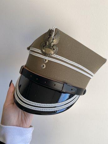 Czapka oficera starszego- rogatywka rom. 54