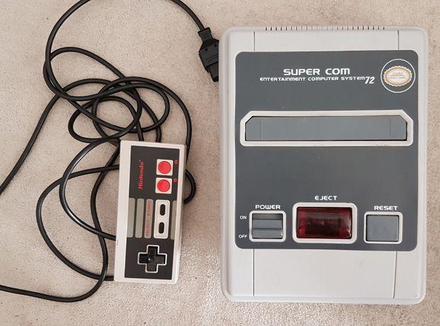 Klon Nintendo NES 72pin Super Mario Bros + kartridże