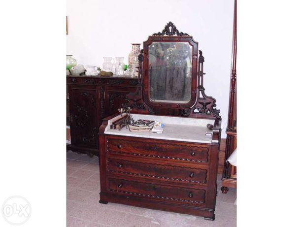 Antiga cómoda / tocador Sec. XIX