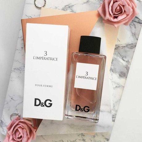 парфюм женский Dolce&Gabbana 3 L`Imperatrice, 60 мл (450р)