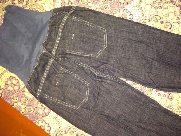 Продам тонкие весенне- летние джинсы для беременных