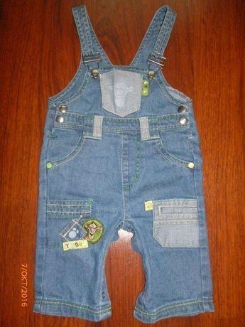 Комбезик детский джинсовый