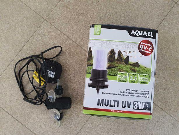 Aquael Sterylizer UV AS Sterylizator 3W