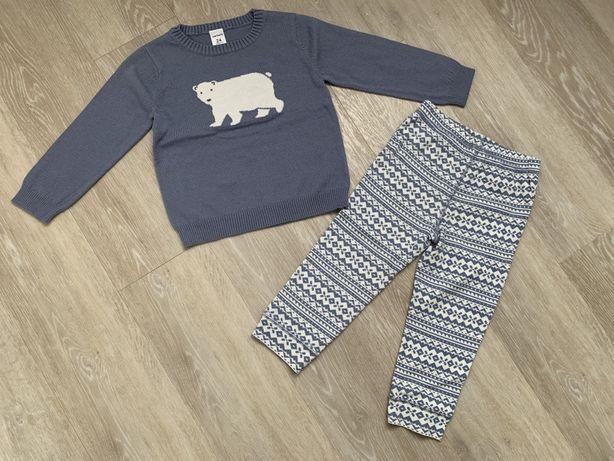 Carters реглан и штаны, комплект 18-24 мес
