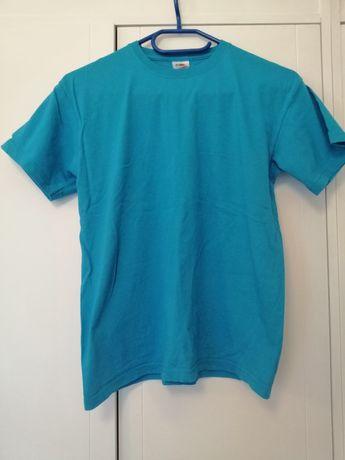 Turkusowy T-shirt 152cm