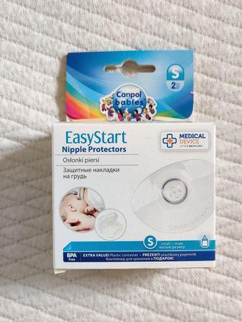 Nakładki na piersi firmy Canpol babies Easy Start rozmiar S