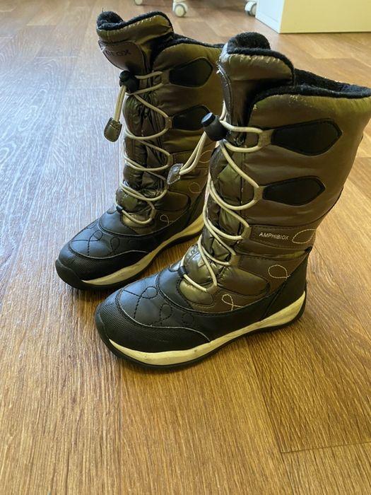 Обувь детская зимняя geox размер 31 Киев - изображение 1