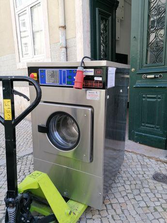 Máquina de lavar roupa para club de futebol lares e self service
