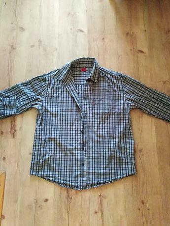 Męska koszula z długim rękawem krata levi's rozmiar M L