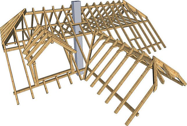 Więźba Dachowa - Konstrukcje Drewniane - Impregnacja #TARTAK