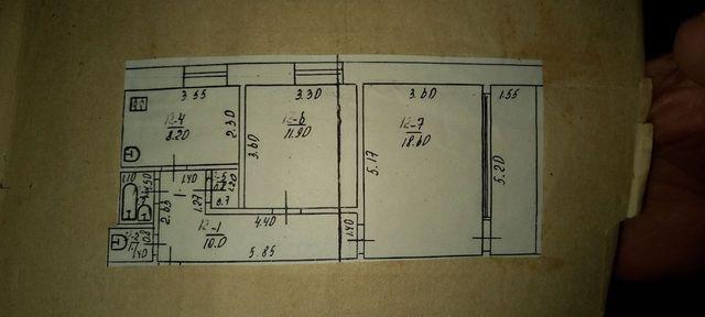 Продається 2 -х кімнатна квартира в місті Тетіїв