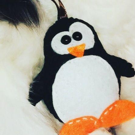 Фетровые игрушки. Пингвин Тукс