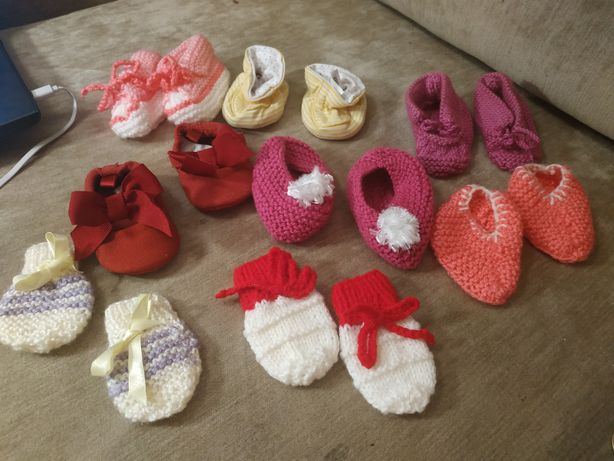 Для самой маленькой принцессы, от 3х месяцев, пинетки тапочки
