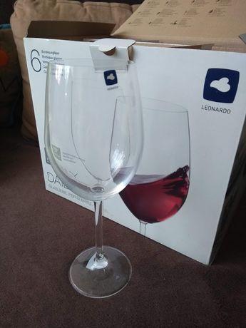 Kieliszki do wina czerwonego 6szt 640ml nowe