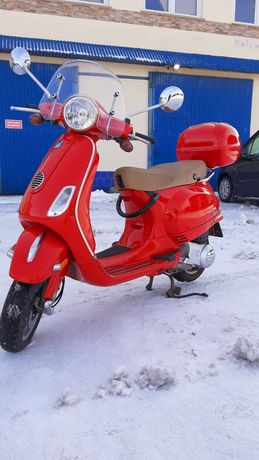 Piaggio Vespa LX150de 2012 r Oryginał Niski przebieg 6600mil 9900 zł !