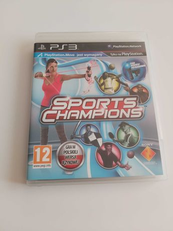 Sport Champions PL PS3 PlayStation3 Move