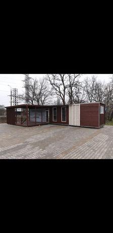 Мобильный контейнерный дом