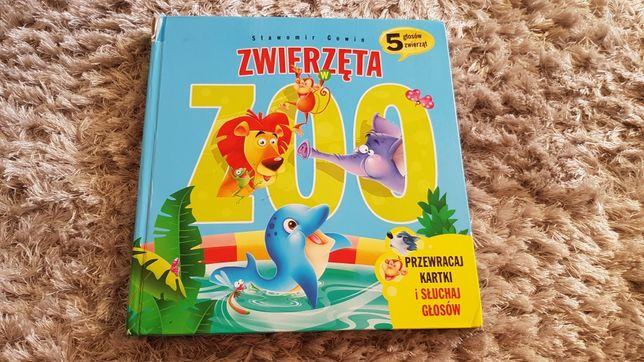 Książeczka dźwiękowa zwierzęta w Zoo