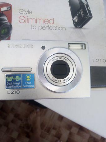 Продам цифровий фотоапарат Samsung L210 у відмінному стані.