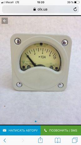 Продам амперметр М145; и М261м щитовой; М42100.