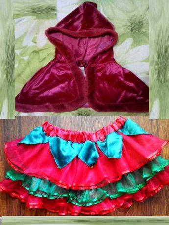 Карнавальный костюм Красная Шапочка для девочки 5 - 6 лет