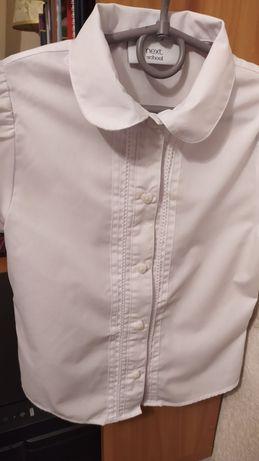 Блузка для школы next на 7 лет