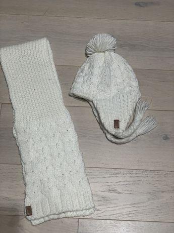 Komplet H&M czapka+szalik