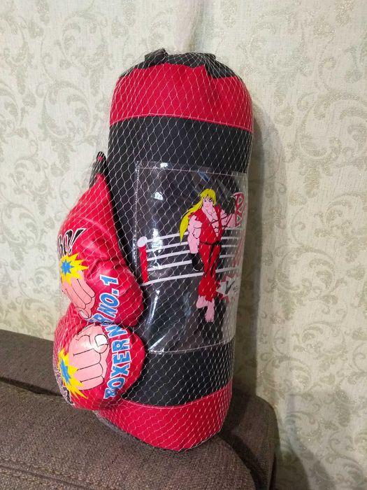 Продам детский набор для бокса Прилуки - изображение 1