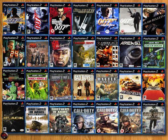 [PS2] 200 Jogos TIROS/GUERRA/AÇÃO (Vendo à Unidade - Ver Preços ↓)