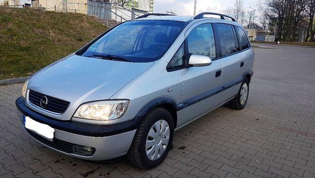 Opel Zafira 1,8 ben 2000r, 7 Osób ,Długie opłaty, I wł. w kraj