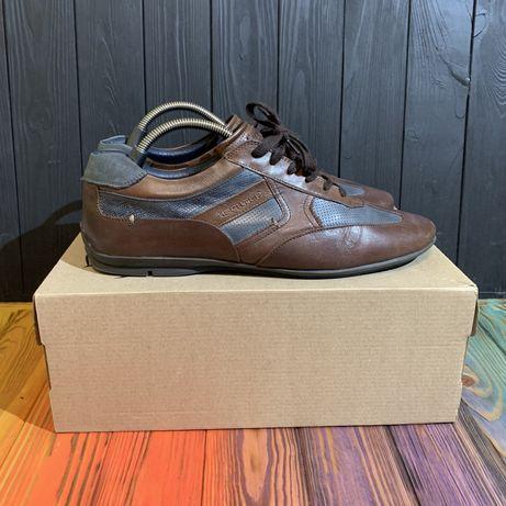 Мужские кожаные кроссовки Daniel Hechter Paris 45 размер Lacoste
