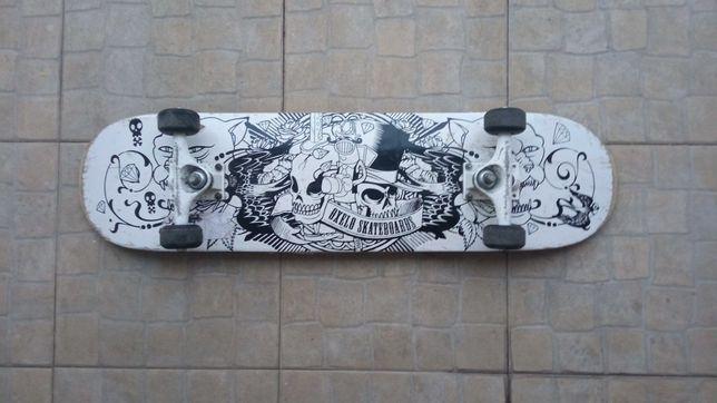 Skate novo usado uma vez